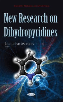 New Research on Dihydropyridines 978-1-63485-604-1 6x9 HC