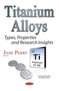 Titanium Alloys 978-1-53610-437-0